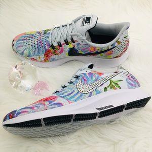 0f8941135ed Nike Shoes - Bling Nike Air Zoom Pegasus 35 Floral w  Swarovski